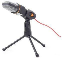 Mikrofon biurkowy z wyłącznikiem mini statyw Gembird