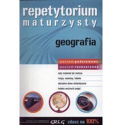 Repetytorium maturzysty geografia poziom podstawowy i rozszerzony (opr. miękka)