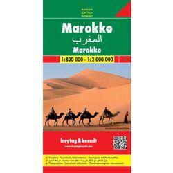 Maroko mapa 1:800 000 / 1:2 000 000 Freytag & Berndt (opr. twarda)