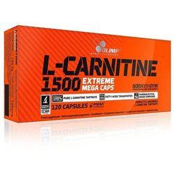 Olimp L-CARNITINE 1500 Extreme 120 kaps. Silna dawka L-Karnityna 028847