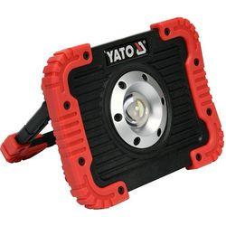 LAMPA LED 10W AKUMULATOROWA USB, POWERBANK YT-81820 YATO