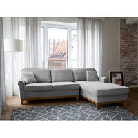 Narożniki, Narożnik jasnoszary - kanapa - sofa - narożna - wypoczynek - NEXO