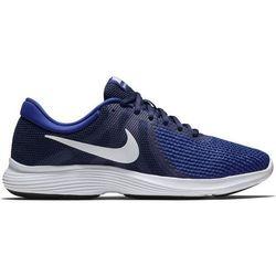 Nike buty do biegania męskie Men'S Revolution 4 Midnight Navy White-Deep Royal Blue 39