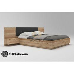 Łóżko dębowe Morus 01 podnoszone 160x200