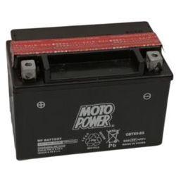 Akumulator motocyklowy Moto Power CBTX9-BS YTX9-BS 12V 8Ah 135A EN L+