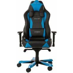 DXRacer fotel Wide WY0/NB, czarny/niebieski (WY0/NB)