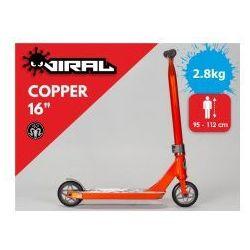 """RKR Viral 16"""" hulajnoga wyczynowa Copper"""