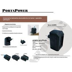 Panasonic CGA-S007 ładowarka ACMPE z wymiennym adapterem gustaf