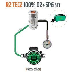 TECLINE R2 TEC2 100% O2 M26x2 z manometrem, zestaw stage - EN250A