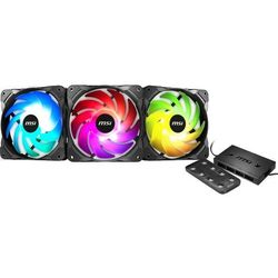 Wentylator MSI Rainbow Fan 3-Pack