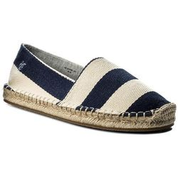 Espadryle MARC O'POLO - 703 23753801 619 Dark Blue/Cream 879