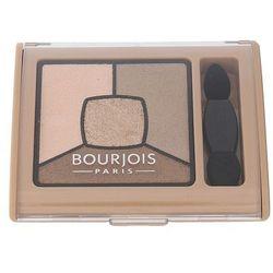 BOURJOIS Paris Smoky Stories Quad Eyeshadow Palette cienie do powiek 3,2 g dla kobiet 13 Taupissime