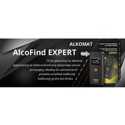 AlcoFind EXPERT - Alkomat elektrochemiczny z platynowym sensorem + rok kalibracji gratis