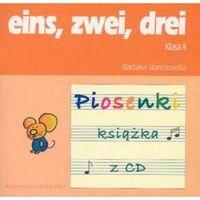 Książki do nauki języka, eins, zwei, drei. Język niemiecki. Klasa 2. Szkoła podstawowa. Piosenki (+ CD). KOMPLET (opr. miękka)
