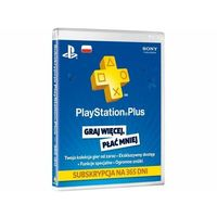 Klucze i karty pre-paid, PlayStation Plus subskrypcja na 365 dni