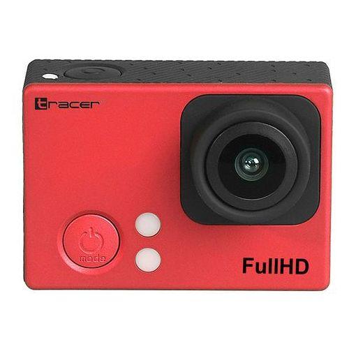 Kamery sportowe, Kamera sportowa TRACER Slim FHD Adventure 2030 Czerwony