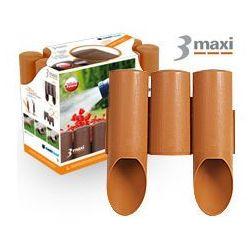 Palisada ogrodowa Cellfast 3 MAXI (terakota) 13,5cm x 2,1m (34-013)