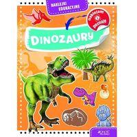 Naklejki, Naklejki edukacyjne Dinozaury - Praca zbiorowa