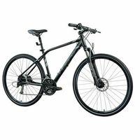 Pozostałe rowery, Rower INDIANA X-Cross 4.0 M21 Czarny   5 LAT GWARANCJI NA RAMĘ DARMOWY TRANSPORT