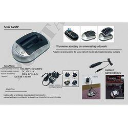Fuji NP-80 / Kodak KLIC-3000 ładowarka AVMPXSE z wymiennym adapterem (gustaf)