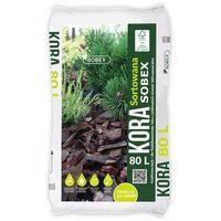Pozostałe rośliny i hodowla, Kora sortowana Sobex 20 - 50 mm 80 l