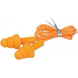 Zatyczki do uszu DEDRA silikonowe ze sznurkiem BH1033