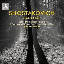 SHOSTAKOVICH CANTATAS - Estonian National Symphony Orchestra, Paavo Jarvi (Płyta CD)