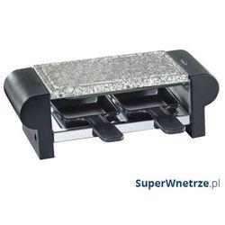 Raclette grill stołowy Kuchenprofi czarny