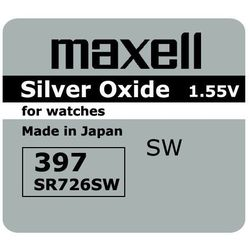 bateria srebrowa mini Maxell 396 / 397 / SR 726 SW / G2