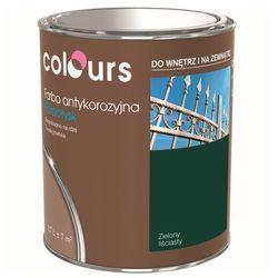 Farba antykorozyjna Colours zielona liściasta 0,7 l