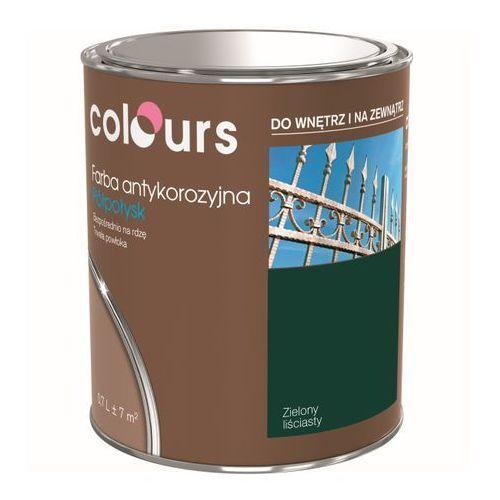 Farby, Farba antykorozyjna Colours zielona liściasta 0,7 l