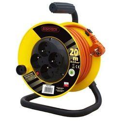 Elgotech Przedłużacz bębnowy 4GN 20m 3x1,5mm (PZB1-40-20Y) - Rabaty za ilości. Szybka wysyłka. Profesjonalna pomoc techniczna.