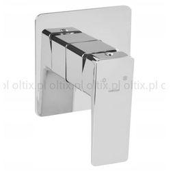 OMNIRES Bateria podtynkowa 1 funkcyjna bez przełącznika kwadratowa PARMA PM7445