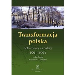 Transformacja polska Dokumnety i analizy 1991 - 1993 - Praca zbiorowa (opr. twarda)