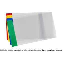 Okładka A5R regulowana 21,4cm x 29,3-32cm krystal - A5R (21cm x regulowana szer.)