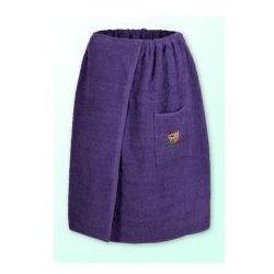 Sauna kilt ręcznik purpura 100% bawełna uniwersalny 70*140 z logo