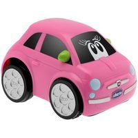 Osobowe dla dzieci, CHICCO Turbo Touch Fiat 500 kolor różowy