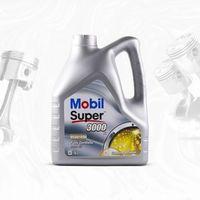 Oleje silnikowe, MOBIL SUPER 3000 X1 5W40 SN/SM, A3/B3/B4, VW 502.00/505.00, BMW LL-01 -4L