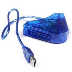 PRZEJŚCIÓWKA USB NA PSX/PS2 NA 2 PADY