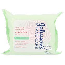 Johnson´s Face Care Clear Skin chusteczki oczyszczające 25 szt dla kobiet