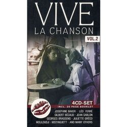 VARIOUS ARTISTS - Vive La Chanson vol. II (4CD)