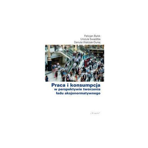 Biblioteka biznesu, Praca i konsumpcja w perspektywie tworzenia... (opr. broszurowa)