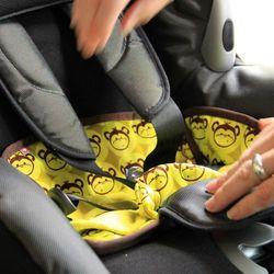 Ochraniacz na fotelik samochodowy Close Parent - GreyDay - GreyDay