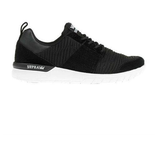 Męskie obuwie sportowe, buty SUPRA - Scissor Black/Black-White (003) rozmiar: 45
