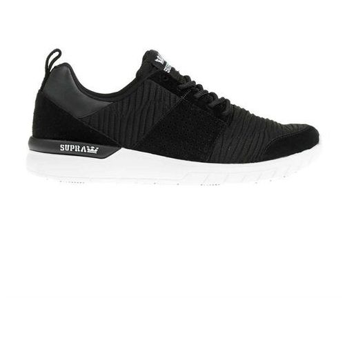 Męskie obuwie sportowe, buty SUPRA - Scissor Black/Black-White (003)