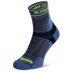 Skarpety biegowe Bridgedale Ultra Lt T2 Merino Sport 3/4 Crew - blue