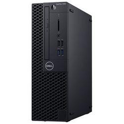 DELL Optiplex 3060 SFF [N009O3060SFF] - i3-8100 / 4 / 500 / HDD (SATA) / UHD Graphics 630 / Intel H370 / LGA1151 / Win10 Pro