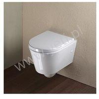 Miski i kompakty WC, Catalano Zero Verso 45 miska podwieszana z deską wolnoopadającą 1VSV45N00, 5V45STF00