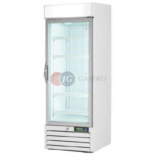 Szafy i witryny chłodnicze, Szafa mroźnicza 1-drzwiowa przeszklona 578 l Stalgast 850011