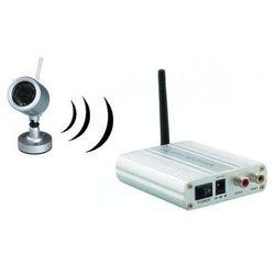 Kamera Bezprzewodowa Zewnętrzna (dzienno-nocna) + 4-kanałowy Odbiornik do 300m.